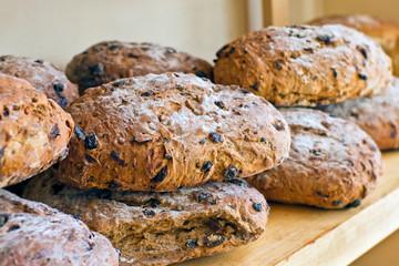 Fresh baked granary bread
