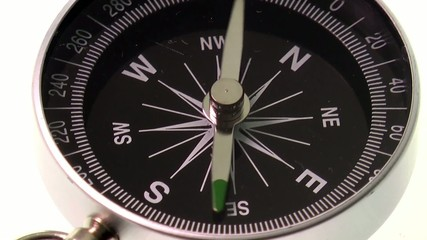 compass pointing east