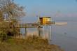 Cabane de pêcheur sur la Garonne
