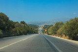 Highway in Crete