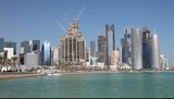 Doha skyline, Qatar, Middle East poster