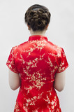 Cheongsam,is for important occasions  wear by during new year da