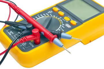 Digital yellow multimeter