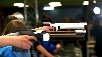 sports pistol shooting