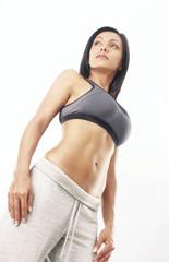 Mujer latina en forma.