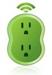 Green Wireless Smart Power Outlet