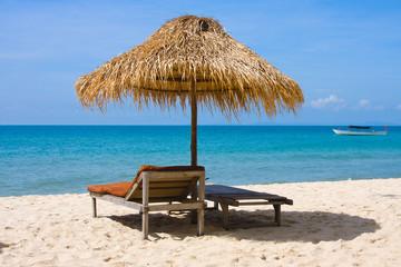 Beautiful tropical beach in Sihanoukville, Cambodia