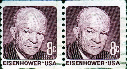 Eisenhower. 1890-1969. Us Postage