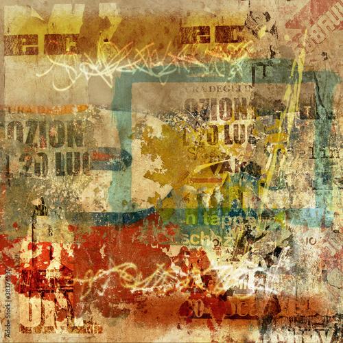 Fototapeten,grunge,posters,graffiti,hintergrund