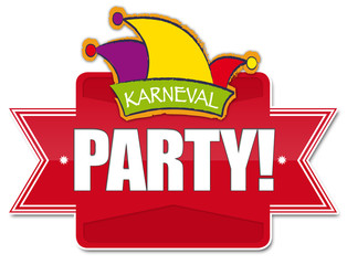 Karneval PARTY! Button, Icon
