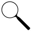 Lupe, Symbol, Linse, Icon, Vergrößerungsglas, Suchen, Finden