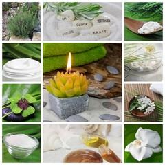 Relaxen mit Naturprodukten