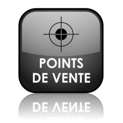 Bouton POINTS DE VENTE (plan d'accès gps nous trouver magasins)