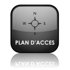 Bouton Web PLAN D'ACCES (directions gps nous trouver itinéraire)