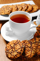 cookies with tea