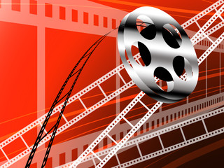 Film strip and roll, Cinema technology