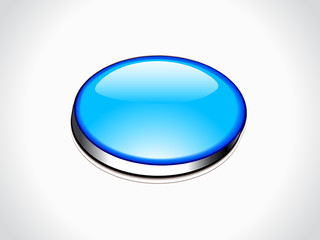 abstract blue web button