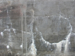 Rough cement wall texture