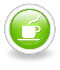 "Light Green Icon ""Coffee Shop"""