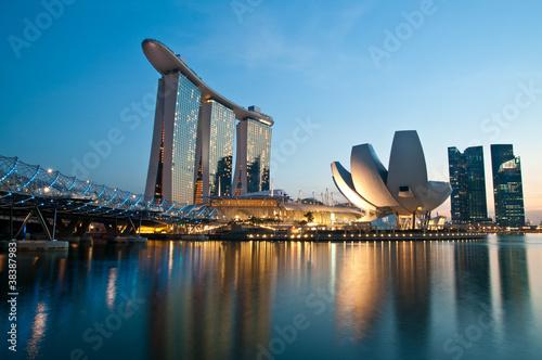 Leinwandbild Motiv MarinaBay Sands
