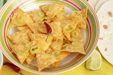 Mexian nachos