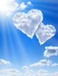 Fototapeten,herz,liebe,wolken,sonne