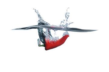 Chile pepper splash
