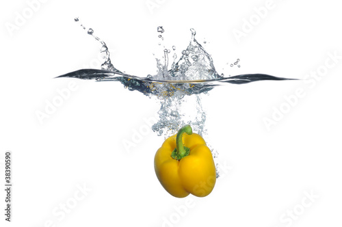 Yellow Bell Pepper Splash