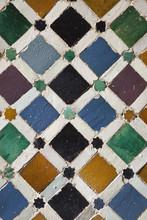Płytki w Alhambra w Granadzie