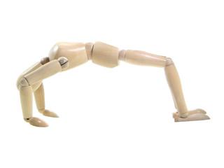 Gym Wood Puppet