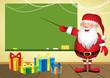 Santa in school
