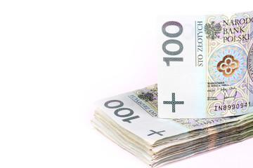 Polish money PLN