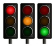 Traffic Lights Set of Three