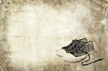 canvas shoes background