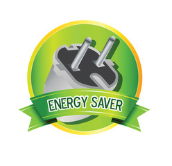 energy saver logo vector