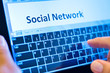 typing social network