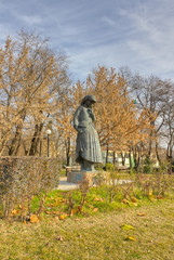 "Statue of ""Mother"", Karditsa, Greece"