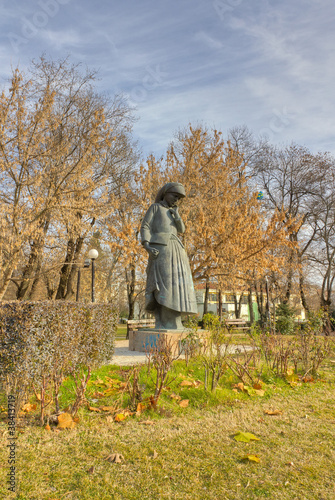 "Statue of ""Mother"", Karditsa, Greece"