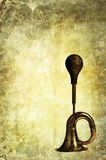 vintage horn backdrop