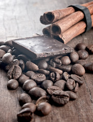 spices and chocolate