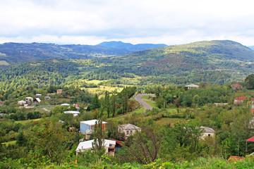 Village near Kutaisi, Georgia