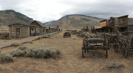 An Old West Town