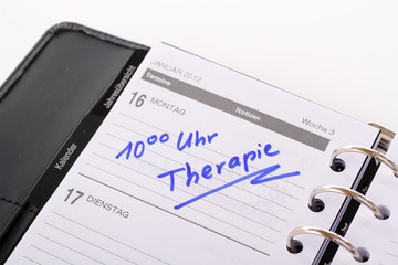therapie kalender