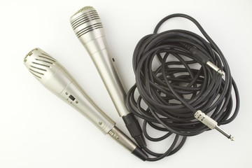 Pair of Karaoke Microphones