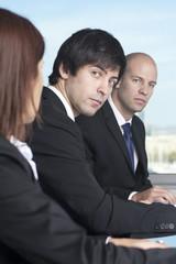 Verärgerte Geschäftsleute