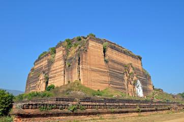 Mingun Paya in Sagaing Division,Myanmar