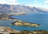 Lake Queenstown New Zealand