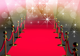 Tapis rouge cannes - 3D