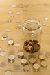 Small Savings In A Jar