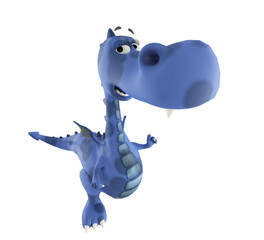 dino baby blue dragon zoom